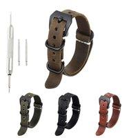 sangles c achat en gros de-Bracelet de montre en cuir d'origine KZfashion pour 18mm 20mm 22mm 24mm 26mm bracelet large Accessoires bracelets de montre en cuir #C