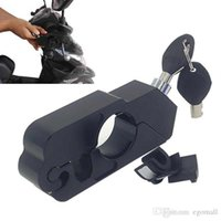 Wholesale cnc aluminum levers for sale - Group buy CNC cut Aluminum Handle Grip Security Lock Handlebar Brake Lever Lock for all Scooters Motorcycles Street Bikes