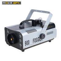 équipement pour fumer achat en gros de-Moka MK-F08 900 Watt LED Contrôle De La Fumée Machine à Fumée Équipement de DJ Professionnel pour Club Pub Stage Party Effets Spéciaux