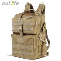 molle assault backpack venda por atacado-Outlife 45L Tático Mochila Exército Molle Bag Assault Backpack Trekking Mochila para Caminhadas Ao Ar Livre Camping Caça