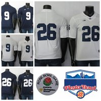 Wholesale trace mcsorley jersey resale online - Penn State Nittany Lions Jerseys Trace McSorley Jersey Saquon Barkley Blue White NCAA College Football Jersey Men s Stitched TH