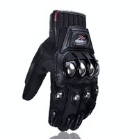 Wholesale motorcycle road race gloves for sale - Group buy Explosive off road motorcycle gloves alloy protective riding gloves racing electric vehicle protective