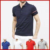 seksi erkekler tişörtleri toptan satış-Pamuk Ünlü Erkek Polo Gömlek Seksi Kuş Tasarımcı Baskı Slim Fit Nakış Polo T Shirt Adam Nefes Bahar Homme Erkekler Camisa tişörtleri
