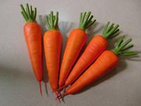 spielzeug plastik bananen großhandel-Lebensmittel Schwere Karotten Rettich Gemüse Obst Spielzeug Modell Simulation Lebensmittel Frühe Pädagogische Kid Pretend Spielhaus Küche Spielzeug