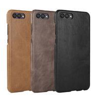 mobiler fall für huawei ehre großhandel-Vintage Leder Tasche für Huawei Honor V10 P20 P20 Pro Mate 20 Serie