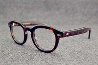 ingrosso occhiali da sole depp-luxury- Occhiali da sole Frames johnny depp plank montatura per occhiali cornice restaurante antichi modi oculos de grau uomo e donna miopia montature per occhiali