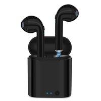 androide preise großhandel-Großhandelspreis I7 I7S TWS I8 I8X I9S Twins Kopfhörer Kopfhörer Stereo TWS Ohrhörer für IOS Android-Handy mit Ladekasten Wireless Bluetooth