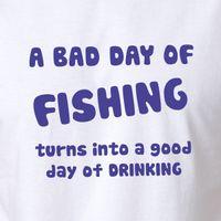 regalos del tanque de los pescados al por mayor-Pesca Cerveza camiseta Regalo de los hombres Ropa Pescado Stubby Camisa Tee Tank top Calidad Clásica Alta camiseta