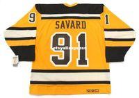 трикотажные изделия оптовых-пользовательские мужские MARC SAVARD Boston Bruins 2010 CCM трикотажные изделия Vintage