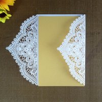 Wholesale marriage invitations cards resale online - Romantic Wedding Party Invitation Card KAWAYE New Year Getting Card Marriage Party Banquet Supplies Wedding Decoration