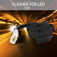 grüne led-grillleuchten großhandel-LED-Notleuchten 12V 2-Pin Motorrad Elektronische LED Blinkrelais 150W LED Blinker Glühlampen Autolicht