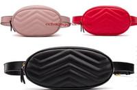 paquete de cintura al por mayor-2017 NUEVA pu Bolsas de Cintura de las mujeres Fanny Pack bolsas bum bolsa Cinturón Bolso Mujeres Dinero Teléfono Monedero de la Cintura Sólido Bolsa de Viaje # G885G