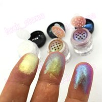 Wholesale mineral glitter resale online - your logo print colors Cosmetics Mineral base Loose color change Pearl Eye Shadow Glitter Eye Shadow