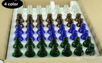 15ml grüne ätherische ölflaschen großhandel-56 STÜCKE 15 ML Glas Tropfflasche Bernstein / Grün / Klar / Blau farbe Ätherisches Öl Parfums Diy Flaschen Leere Glasflaschen