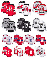 camisetas de hockey nhl montreal canadiens al por mayor-NHL Montreal Canadiens 13 Max Domi 15 Jesperi Kotkaniemi Senadores Rojos 79 Thomas Chabot Los Angeles Kings 17 Ilya Kovalchuk Hockey Jersey