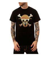скелетные части оптовых-Мужская комическая летняя футболка с коротким рукавом с принтом