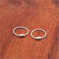 Wholesale sterling silver hoop earrings round resale online - LOYE Sterling Silver Simple Glossy Mini Small Hoop Earrings Ear Bone Buckle Round Circle Earrings Hoops for Women Jewelry
