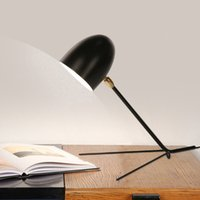 Wholesale industrial table lamps for sale - Group buy Duckbill teeth claws table lamp Nordic industrial wind creative bedside black white table light AC V