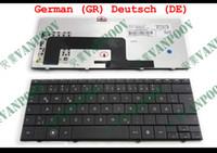 teclado de notebook para hp al por mayor-Nuevo teclado portátil DE GR QWERTZ para HP Mini1000 MINI 1000 1100 1131 1017 1014 1009 1019TU negro alemán 496688-041 V100226AK1
