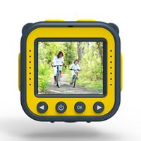 wasserdichter digitaler videokamerarecorder großhandel-Kinder Kid Kamera Mini Wasserdichte Kamera 720 P Digital Video Camcorder 1,77