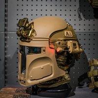 шлем с сердечником оптовых-Защитная пейнтбольная маска для Ops-core Fast Crye Mich ACH Helmet