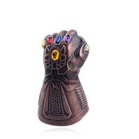 rächer liefert großhandel-Thanos Handschuhe Flaschenöffner Marvel Infinity Handschuhe Schlüsselanhänger The Avengers Zubehör Hochzeit Gunsten Party Supplies Haushalt
