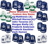 Wholesale auston matthews for sale - Group buy Toronto Maple Leafs Jerseys Womens Auston Matthews Jersey Justin Holl Martin Marincin Jake Muzzin Hutchinson Hockey Jerseys Custom Stitched