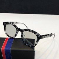 tendência de óculos casuais venda por atacado-Popular designer de venda de óculos de sol 412 tendência retro street cultura óculos para mulheres dos homens simples casual eyewear lente clara uv400 proteção