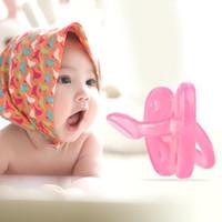ingrosso capezzolo morbido del bambino-Moda neonato neonato succhietto orale succhietto morbido silicone succhietto giocattolo