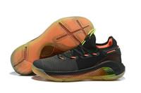 6fbce93c1b6 Com Box Curry 6 Fox Theatre Sapatos de Basquete Stephen Curry 6 6 s Red  Rage Natal na Cidade Tênis Esportivos Tamanho EUA 7-12