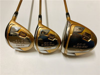 4 Star Honma S-06 Wood Set Honma S-06 Woods Brand New Golf Clubs Driver + Fairway Woods Graphite Shaft With Head Cover