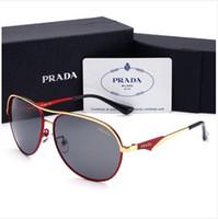 Wholesale lenses for glasses frames resale online - Designer Sunglasses Luxury Sunglasses Designer Glass for Mens Adumbral Glasses UV400 with Box High Quality Brand P Colors New