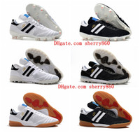 Wholesale man indoor soccer for sale - Group buy 2019 mens soccer shoes Copa Y FG IN TF Turf soccer cleats world cup football boots IC indoor Copa Mundial boots scarpe da calcio