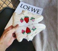 zapatos de niño pintados al por mayor-calzado deportivo de los nuevos niños de marcas pintadas muchachas de la manera impresión muchachos calzados informales de graffiti zapatos grandes niños. Envío gratis