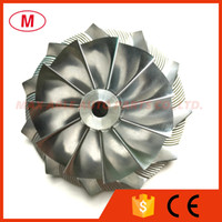 ingrosso girante del compressore del turbocompressore-GT3582 451644-0005 61.33 / 82.00mm 11 + 0 pale Racing Turbocharger Alluminio 2618 / Ruota di fresatura / Turbo Compressore ruote Turbo CHRA / Core