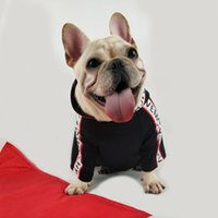 Wholesale dog hats sunglasses resale online - Spring Dog Clothes Brand New Puppy Hoodie French Bulldog Sweatshirt Dog Sport Retro Chihuahua Pug Poodle Teddy Cat Pet Clothes