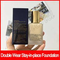 base de maquillaje color de la cara al por mayor-Barato Maquillaje facial Doble Use base de maquillaje en el lugar 30ml Nude Cushion Stick Base de maquillaje radiante sin dhl