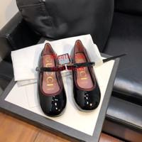mocassins en cuir tout-petits achat en gros de-Printemps Eté Nouvelle mode enfants chaussures garçon fille princesse cuir chaussures chaussures baskets respirant bambins mocassins guu-i2