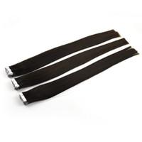 ingrosso estensioni dei capelli nastro neri-doppio nastro trafilato in estensione dei capelli estensione dei capelli vergini remy colore nero naturale 50g 20 pz