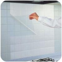 gabinete de ceramica al por mayor-5 Unids Autoadhesivo Anti Aceite Transparente Etiqueta de La Pared Película Protectora Impermeable Para Azulejos De Cerámica Gabinete de Cocina Decoración para el hogar