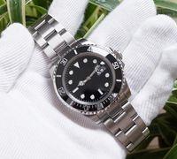 travamento pulso aço venda por atacado-Relógios Mens Automatic 116610 Wrist Relógios Glide bloqueio Fecho Ceramic Bezel Chrono Data de aço inoxidável Orologio Di Lusso Da