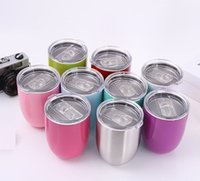 Wholesale eggs parts online - Home Appliance Parts Wine glasses oz Water Bottle coffee mugs Egg Cups Vacuum Insulated Thermos Beer Mug Wedding party with lid Teapot