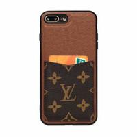 pro inhaber großhandel-Für huawei p30 p30 pro luxus designer telefon case für samsung s9 s10 note9 leder kartenhalter telefon abdeckung für iphone x xr xs max 7 7 plus 8