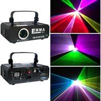 projetor laser rgb ilda venda por atacado-Nova 1000 mw 1 w ilda rgb full color animação laser projetor luz palco ilda dmx