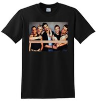 kleine jungen t-shirts groihandel-Backstreet Boys T-Shirt Vinyl Großhandel Discount Poster T-Shirt Small Medium Large oder Xl