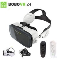 Wholesale vr headset controller resale online - Bobovr z4 VR Virtual Reality D Glasses VR Headset helmet cardboad Bluetooth Controller for inch phone