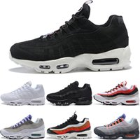 ingrosso scarpe da corsa luminose-Nike air max 95 2018 98 Gundam Tour Yellow Scarpe da corsa Sneakers 20th anniversary OG 3M maxes luminose autentiche 97 95 Trainers 1 Sneakers