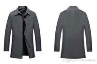 ingrosso decorazione di affari-Giacca da uomo di design di grandi dimensioni giacca primavera nuovi uomini risvolti giacca giovanile casual Business giacca giacca cappotto cerniera fabbrica diretta M-3XL