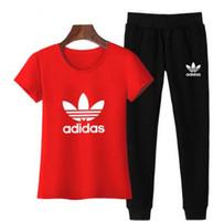 Wholesale survetement sport femme resale online - hot sale active set tracksuits Hoodies Sweatshirt Pant Sport Track suits Pieces jogging sets survetement femme clothes