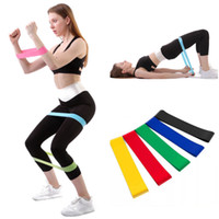 Resistance Bands Yoga Body Building Training Belt Fitness Exercise Band High Tension Muscle for Leg Ankle Weight Training